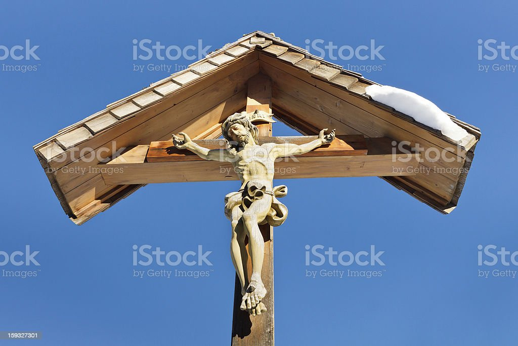 Wayside Cross royalty-free stock photo