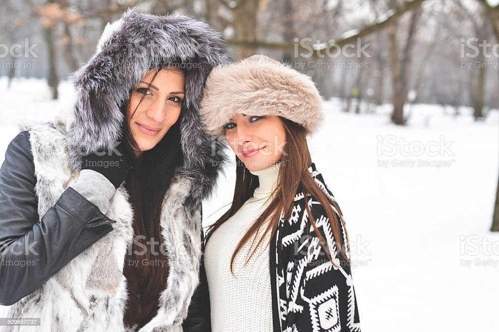 We adore winter stock photo