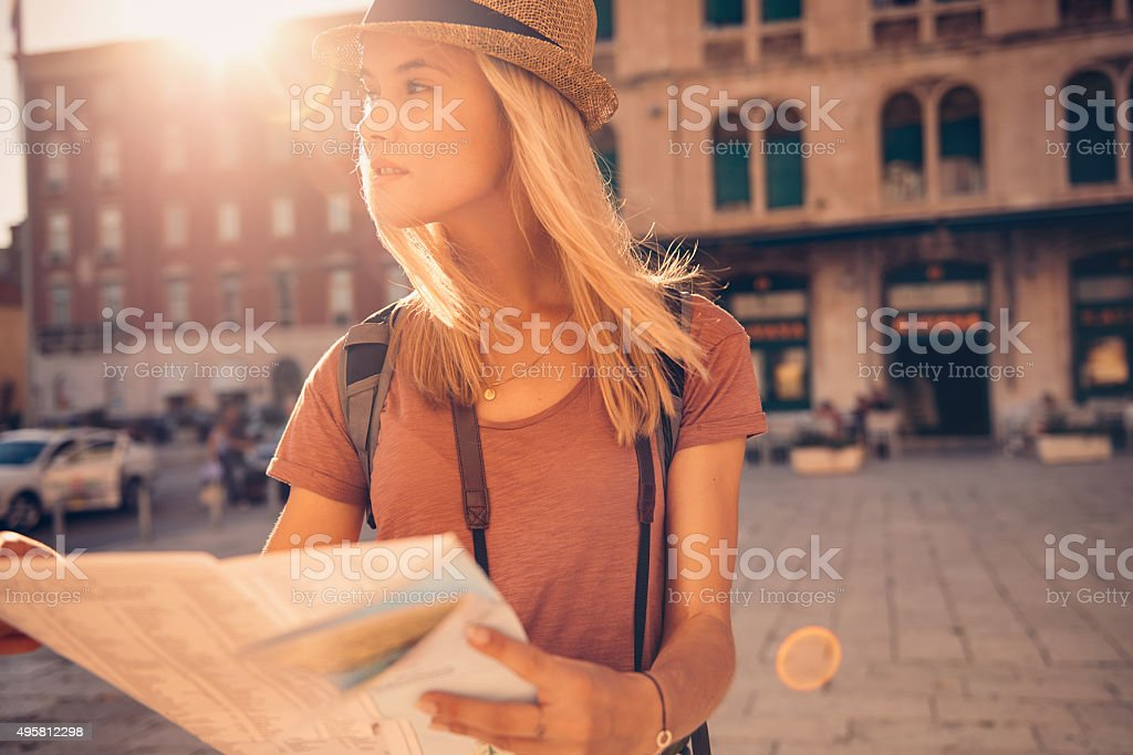 We all deserve a little wanderlust stock photo