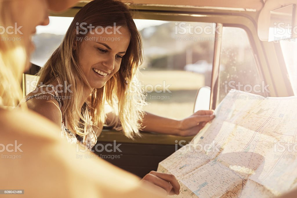 We all deserve a little wanderlust stock photo