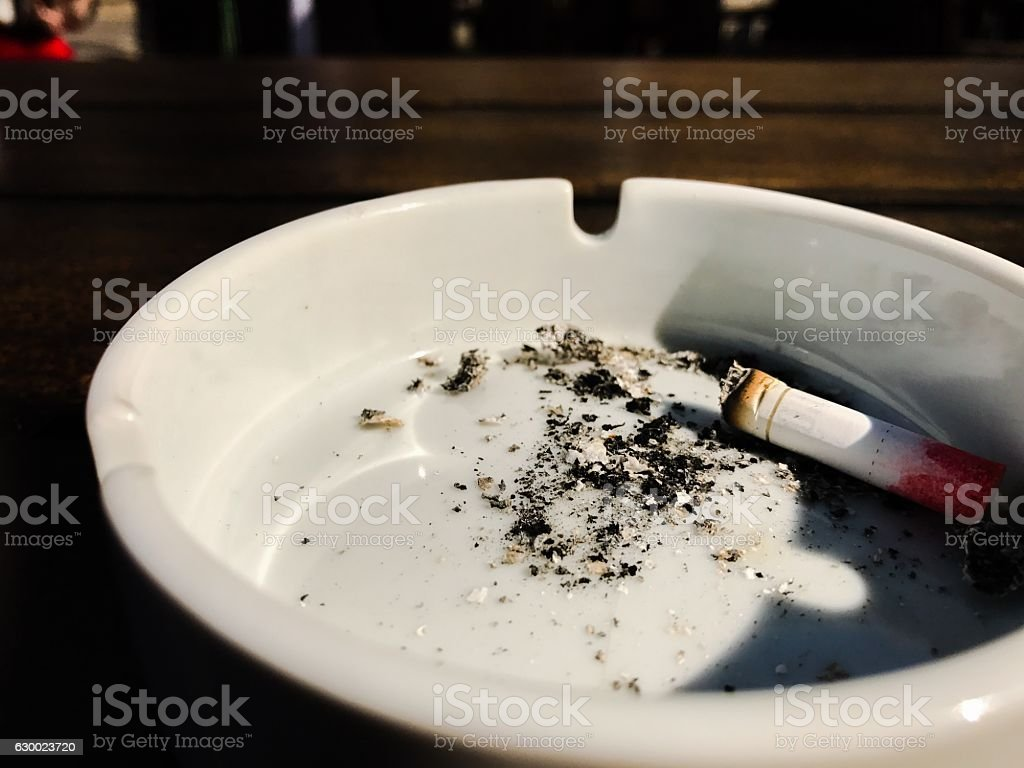 We all must quit smoking this Christmas stock photo