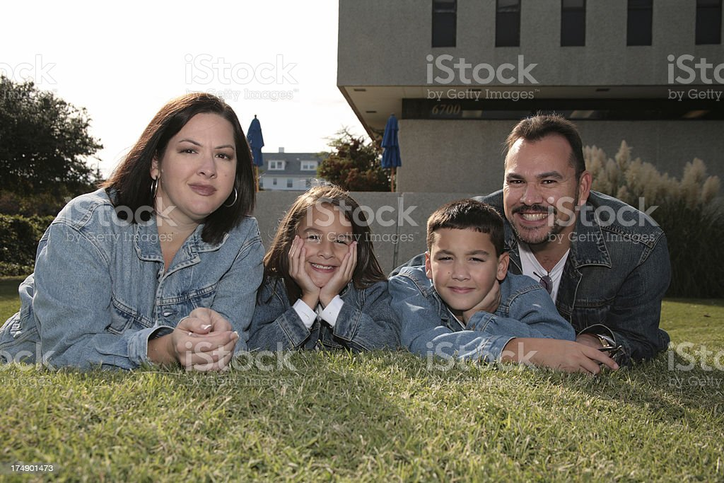 We Are Family stock photo