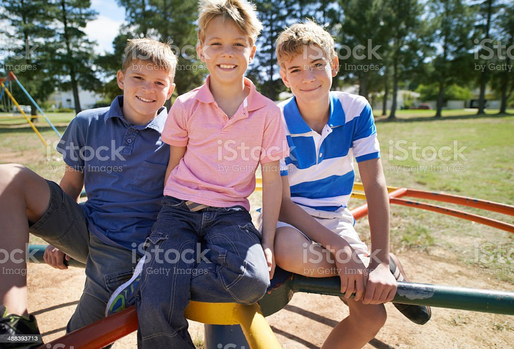 We are going to spin this fast! stock photo
