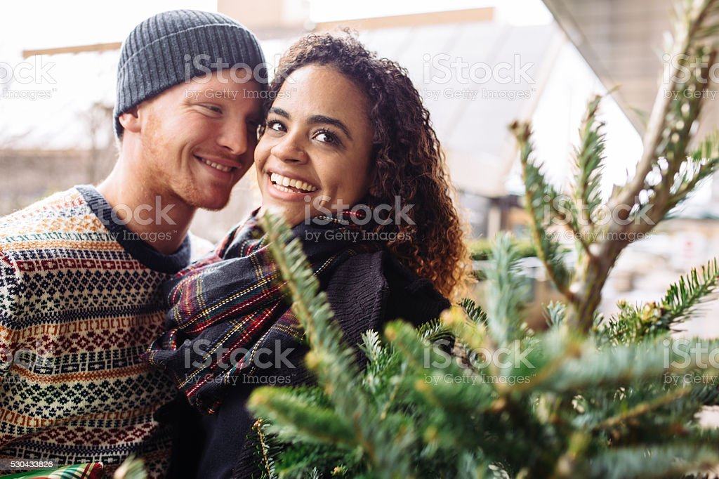 We are happy together stock photo