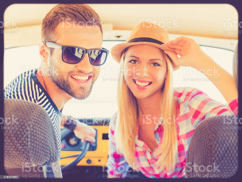 We are looking for adventures. stock photo