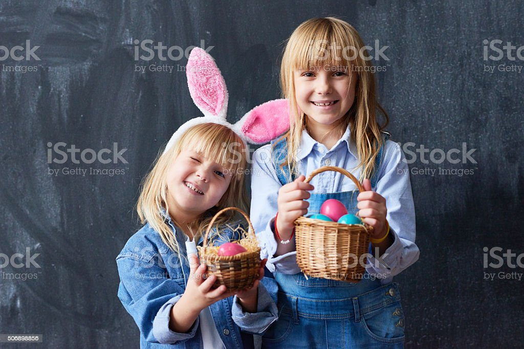 We are ready for Easter! stock photo