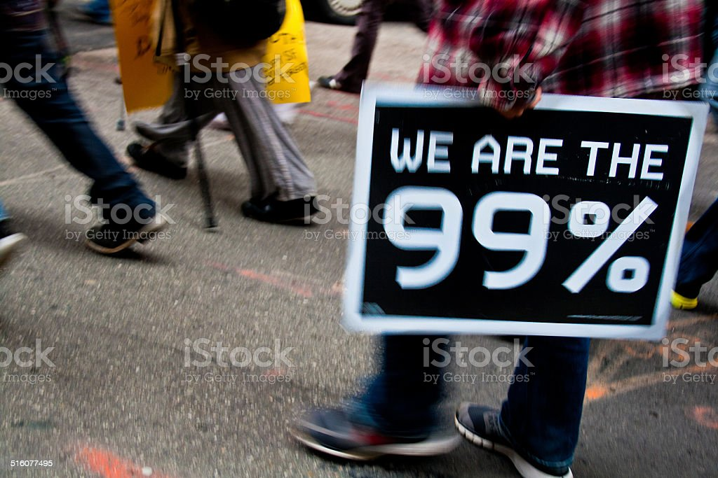 We Are the 99% stock photo