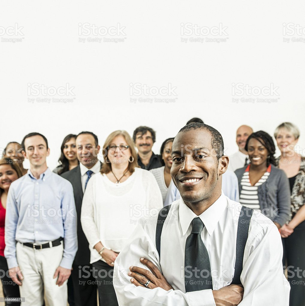 We are the people royalty-free stock photo