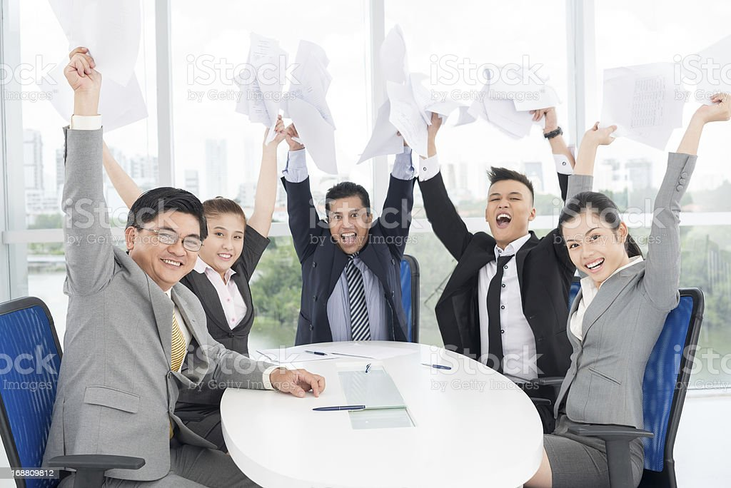 We are winners! royalty-free stock photo