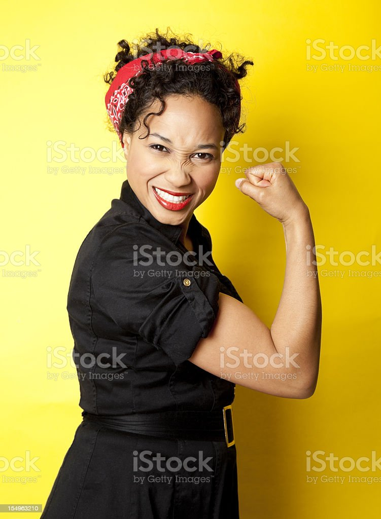 We Can Do It! stock photo
