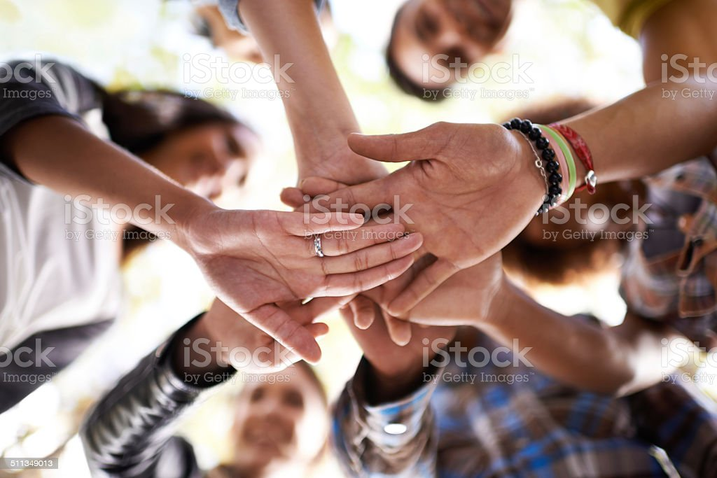 We can do this together stock photo
