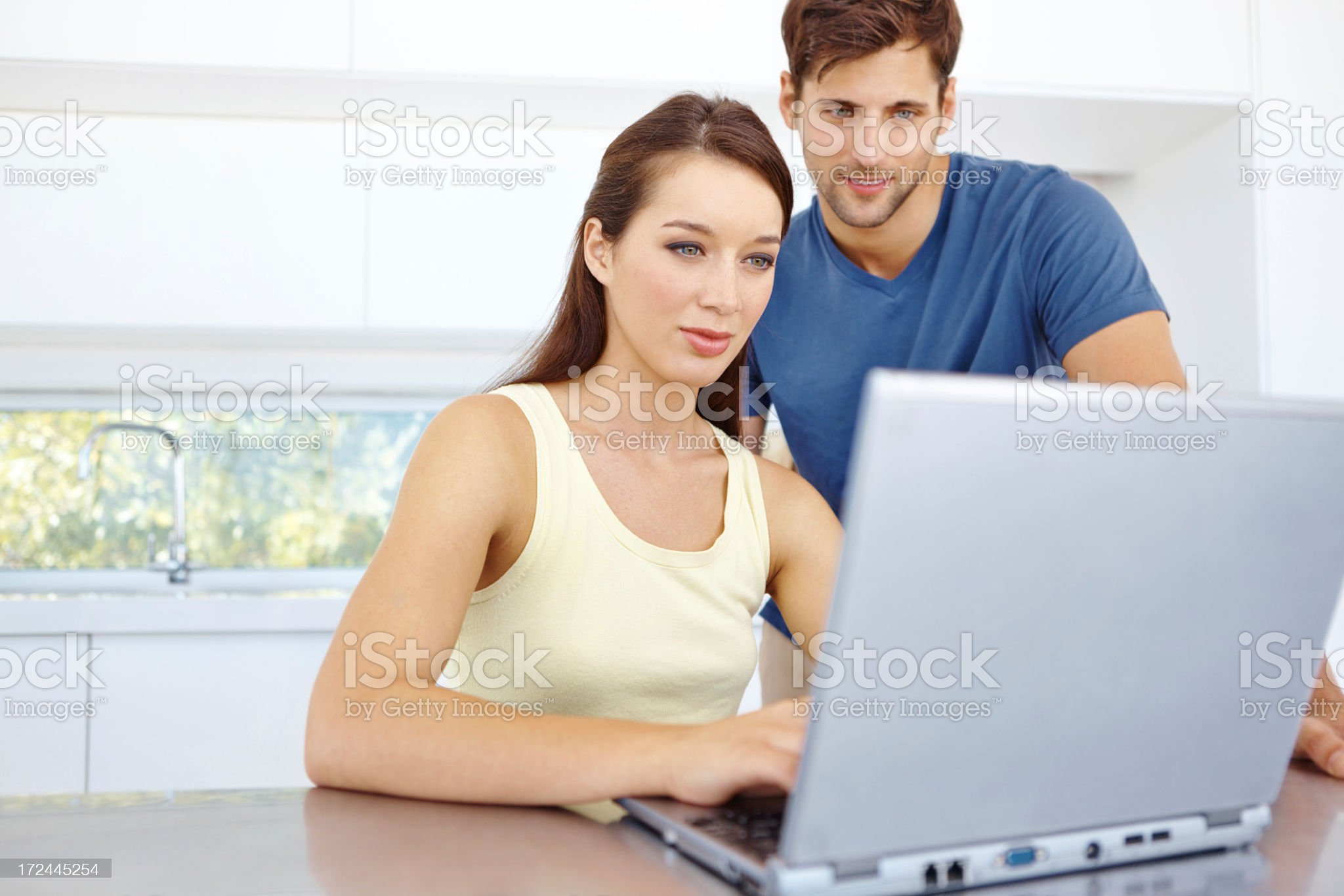 We can find anything online together! royalty-free stock photo