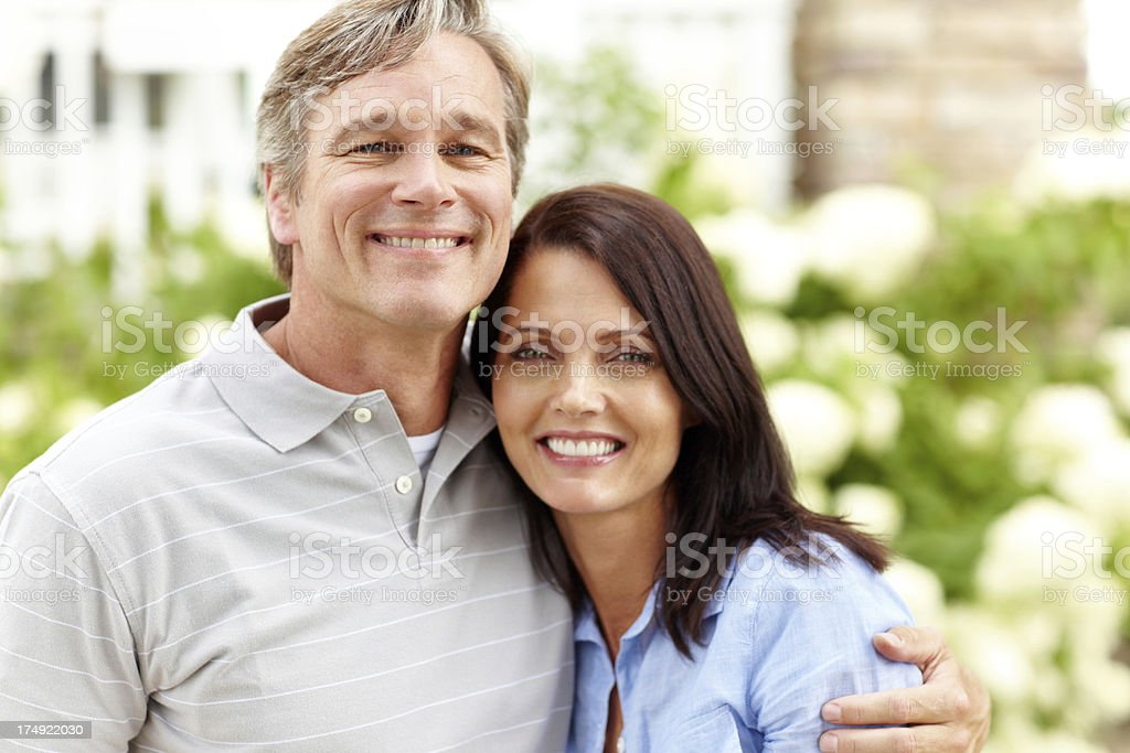 We couldn't be happier together royalty-free stock photo