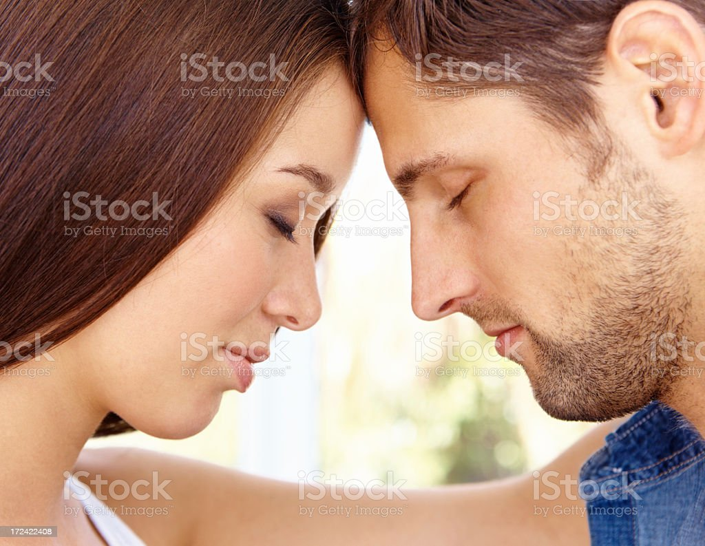 We couldn't imagine a life apart stock photo