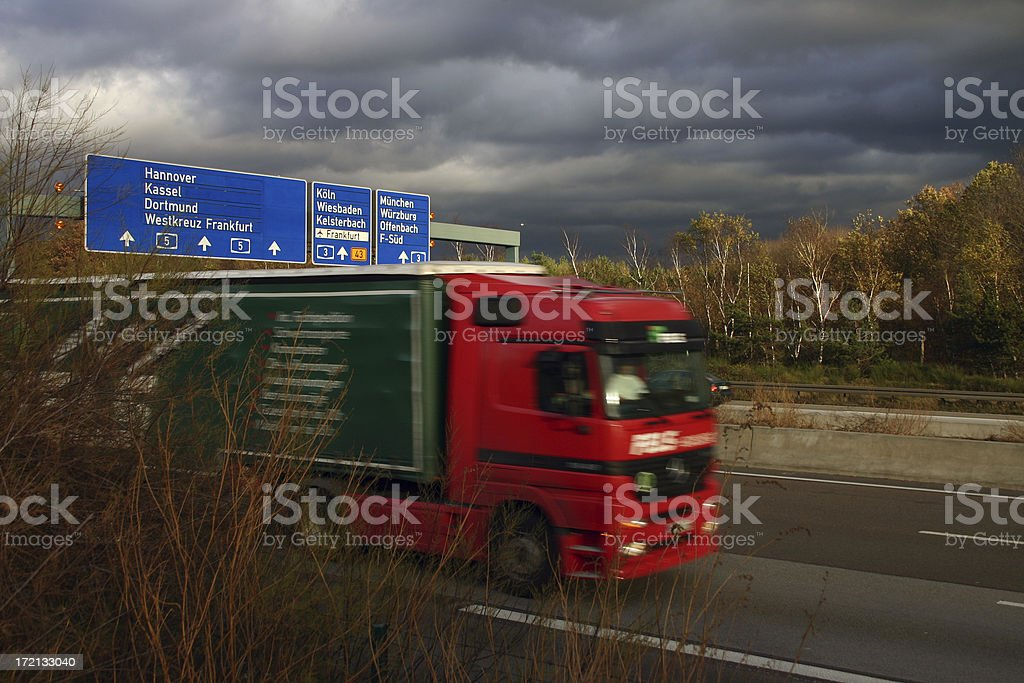 We deliver it! royalty-free stock photo