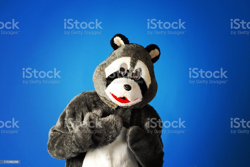 We don't got no sticking badgers. royalty-free stock photo