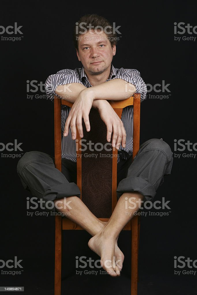 We don't sell shoes royalty-free stock photo