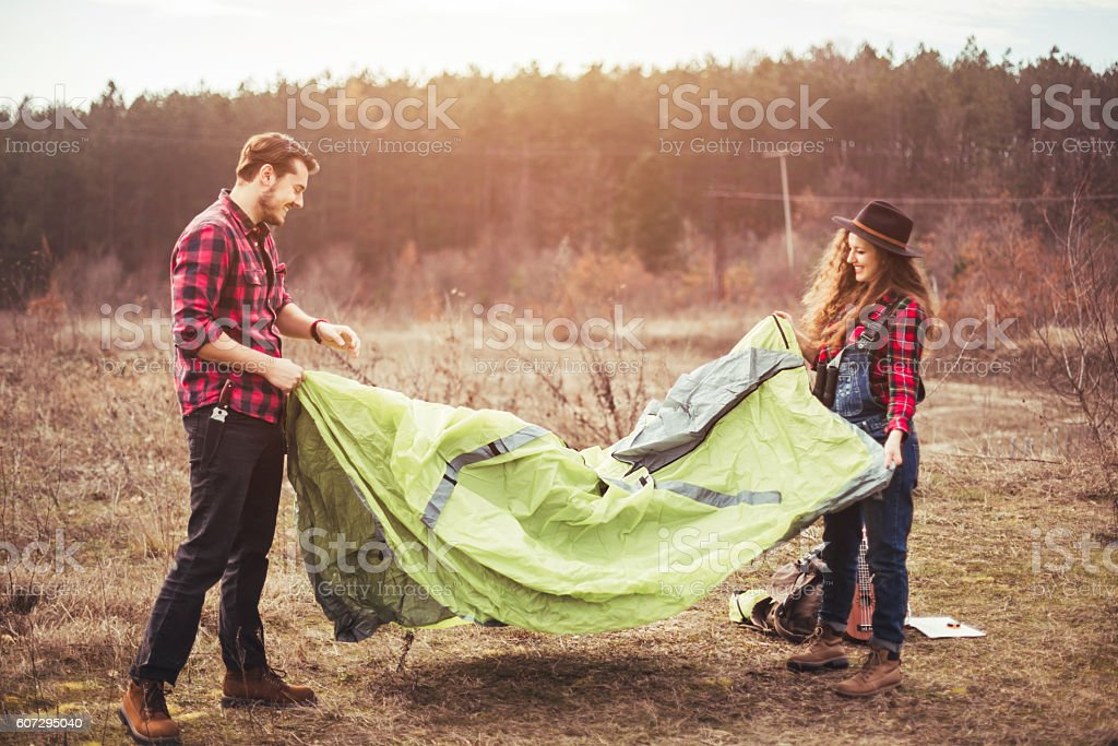 We found the perfect place! stock photo