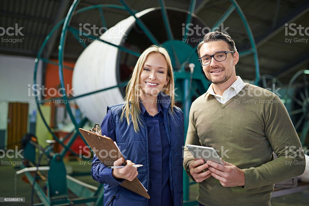 We have everything tracked and traced stock photo