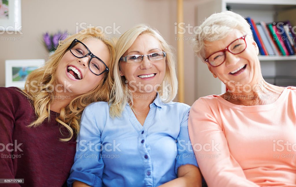We have little problems with vision stock photo