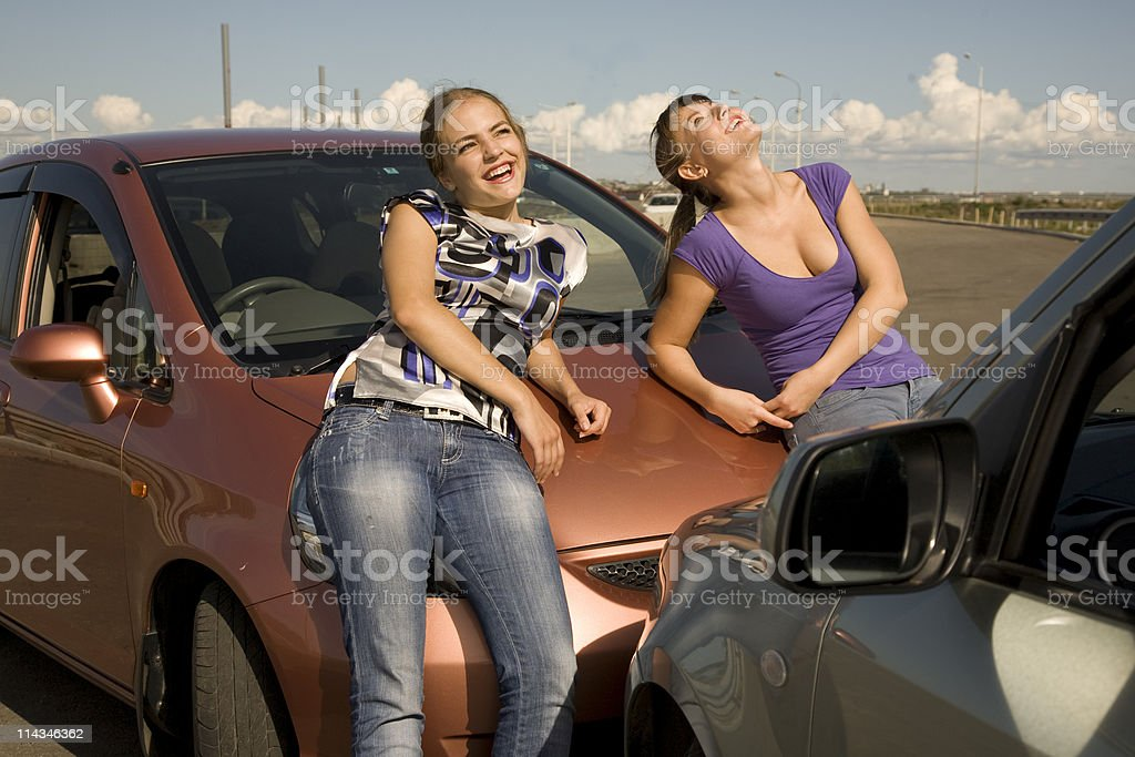 We have our  good isurance and nothing to worry about! stock photo