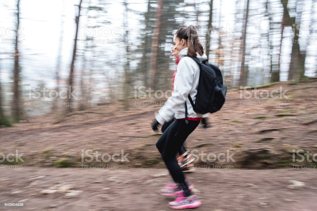 We have to be quicker stock photo