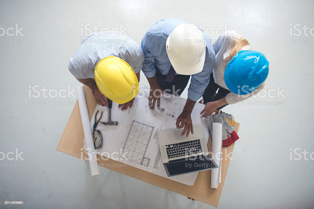 We have to change some details here stock photo