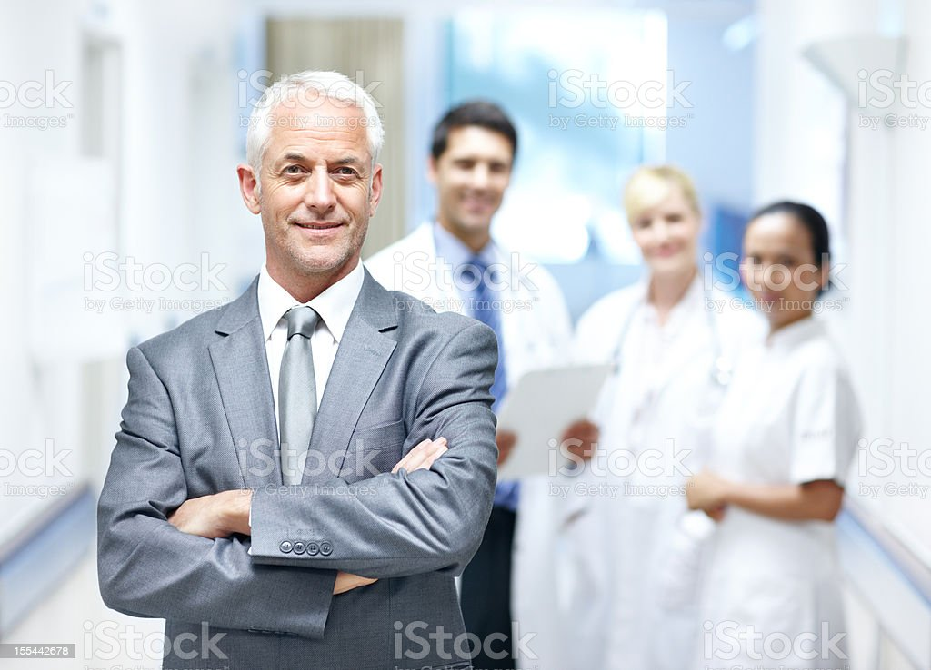 We have your best interests at heart stock photo