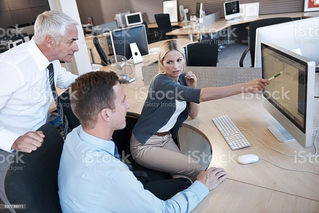 We just need to do some changes here stock photo