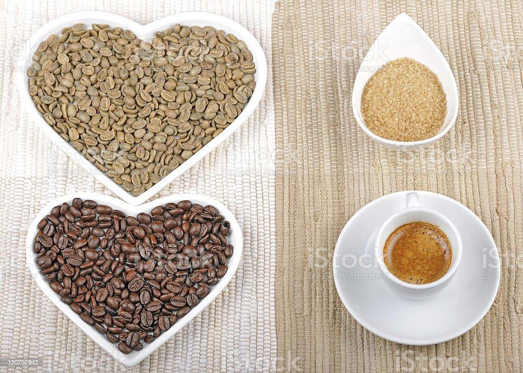 We Like Sweet Espresso royalty-free stock photo