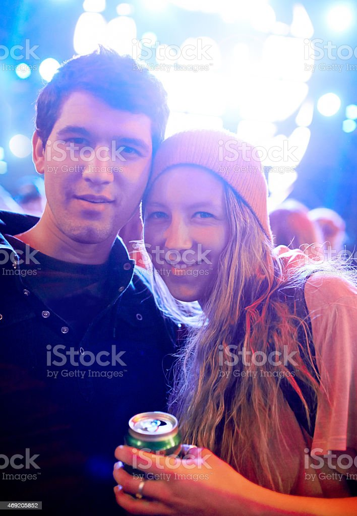 We live for the good times stock photo