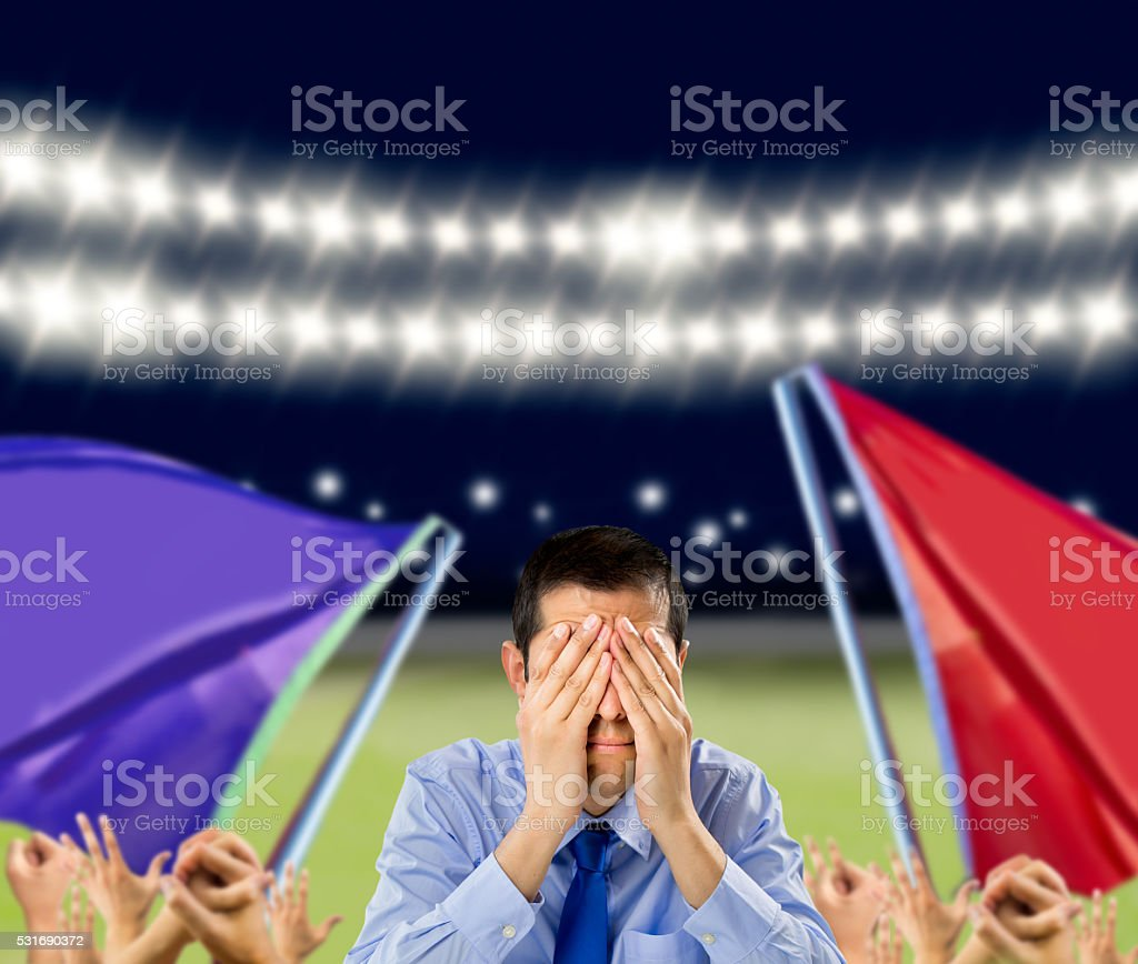 we lost the game stock photo