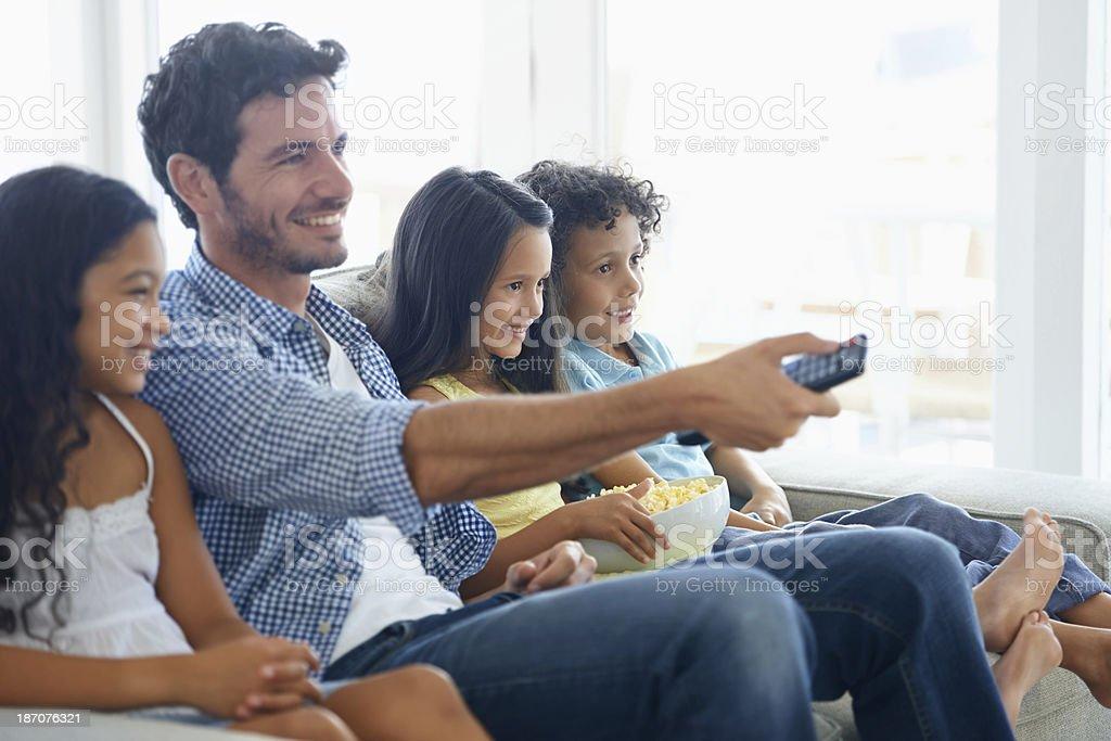 We love comedies! stock photo