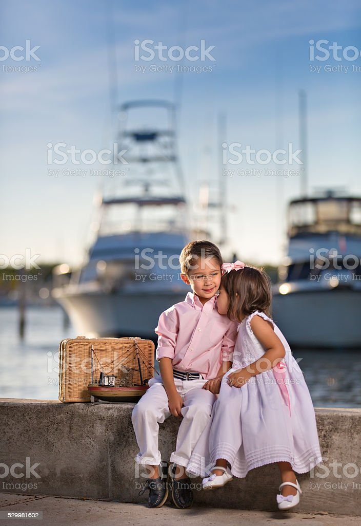 We love each other stock photo