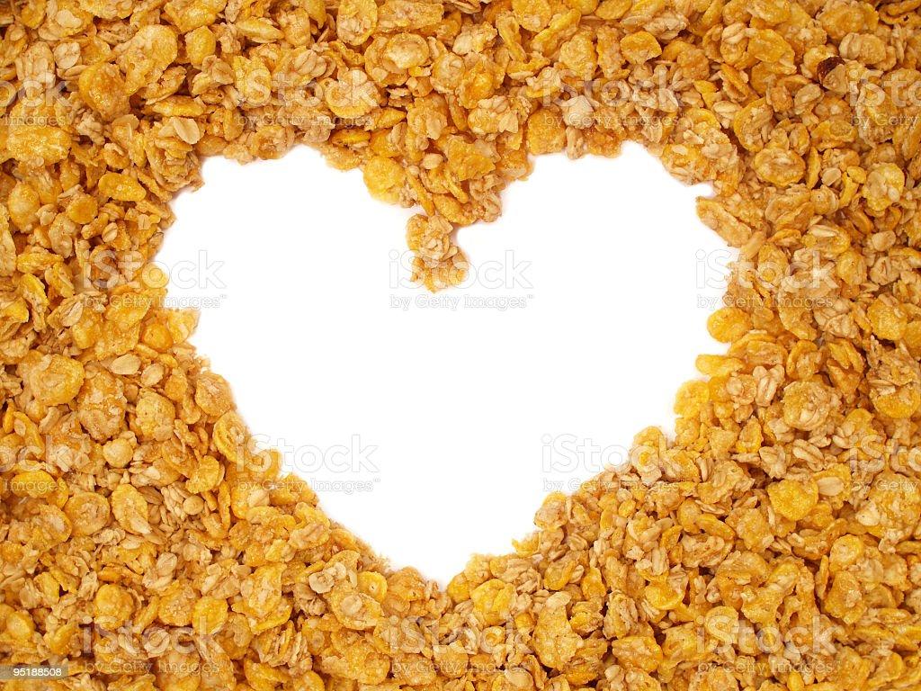 We love healthy breakfast! royalty-free stock photo