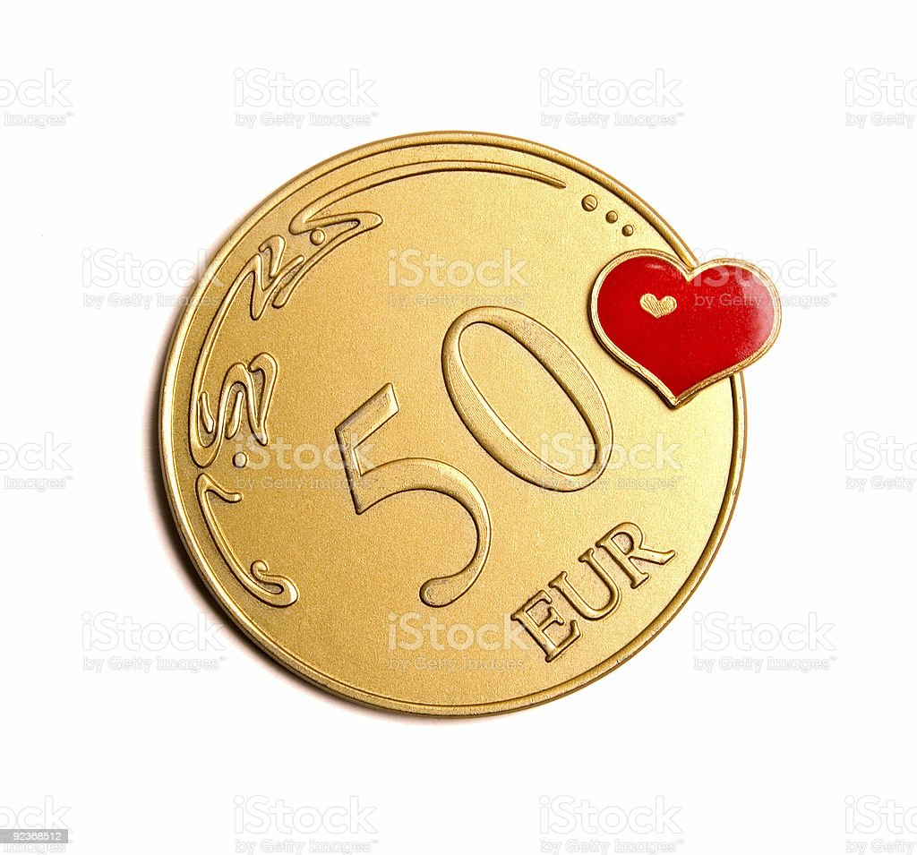 We Love Money stock photo