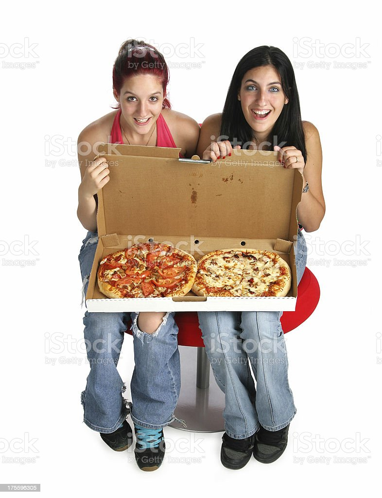 We Love Pizza royalty-free stock photo