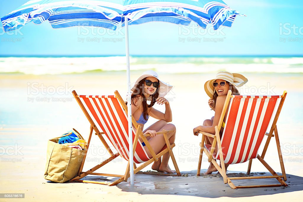 We love summer! stock photo