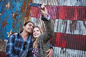 We love taking selfies
