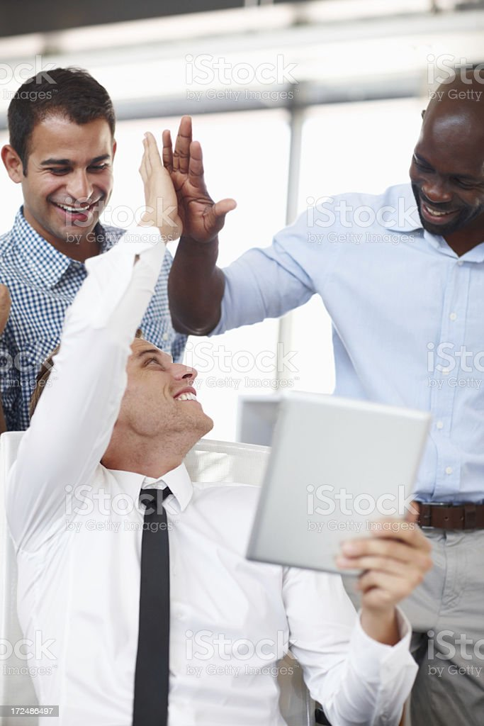 We made it! royalty-free stock photo