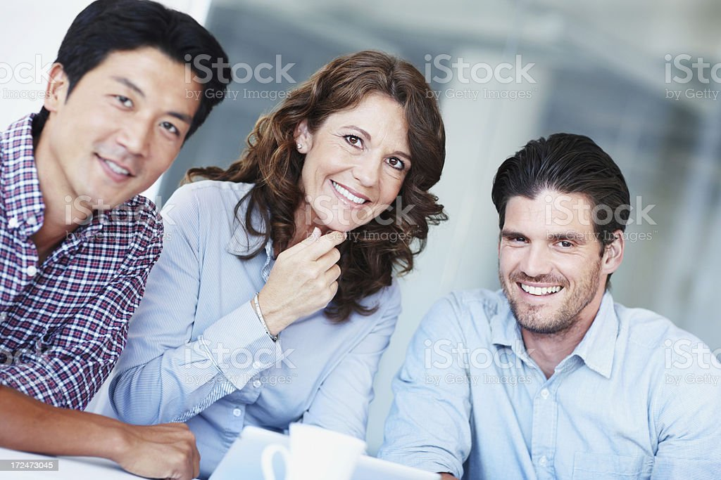 We make use of all the technology available to us royalty-free stock photo