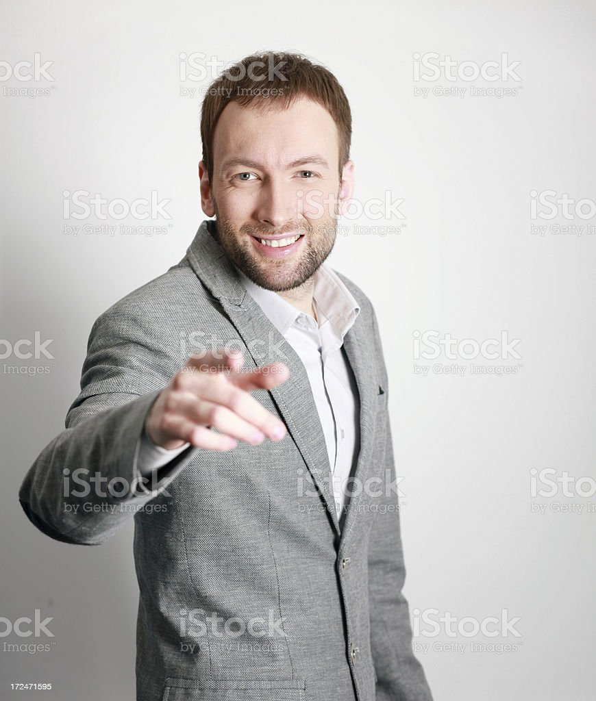 We need you! stock photo