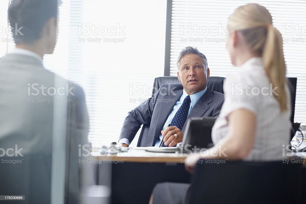 We need your leadership on this project royalty-free stock photo