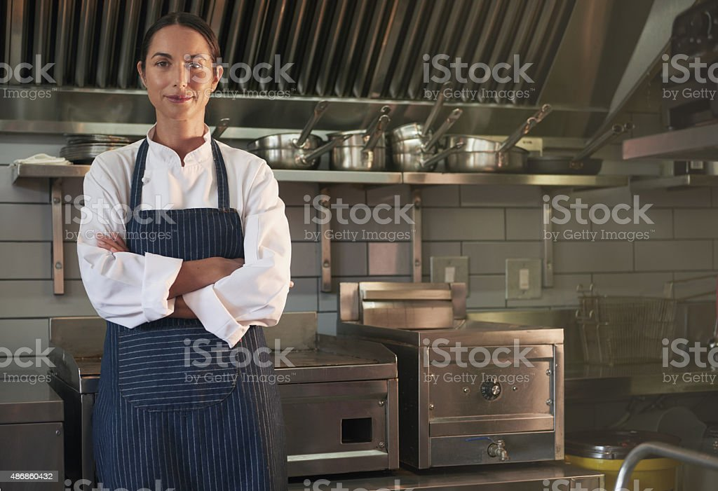 We only serve the finest food stock photo