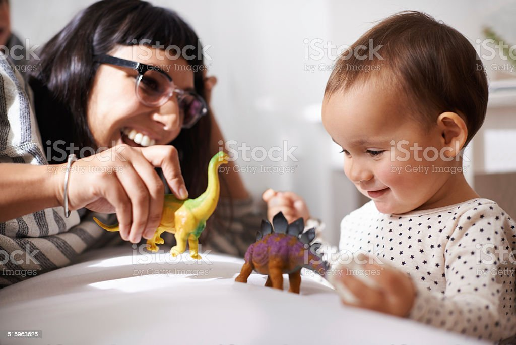 We play, learn and grow together stock photo