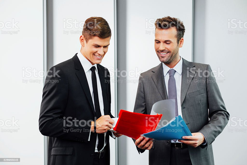 We provide professional consulting stock photo