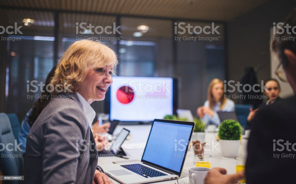We reached our daily goal! stock photo