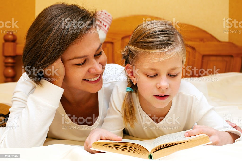 We read together stock photo
