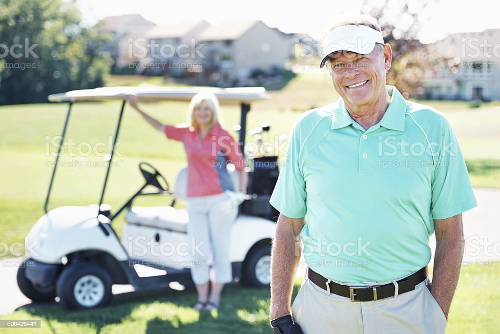 We share the love of golf royalty-free stock photo