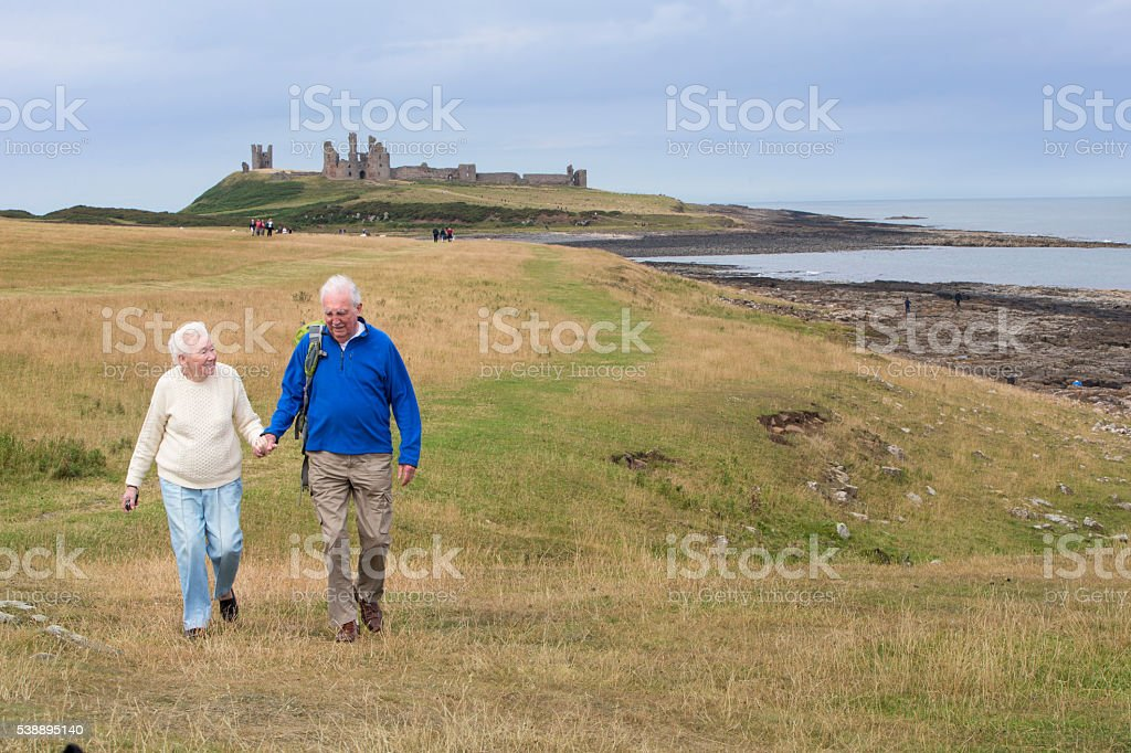 We still love the countryside! stock photo
